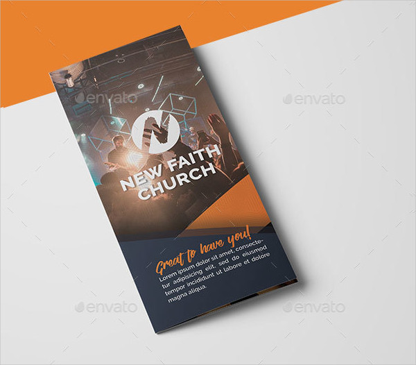 Modern Church Brochure Template