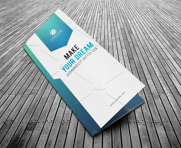 Modern Tri Fold Brochure Template for Business