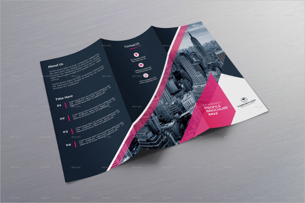Best Trifold Brochure Template