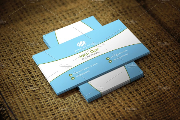 Modern Corporate Visiting Cards Design