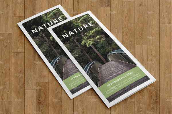 Multipurpose Trifold Brochure Template