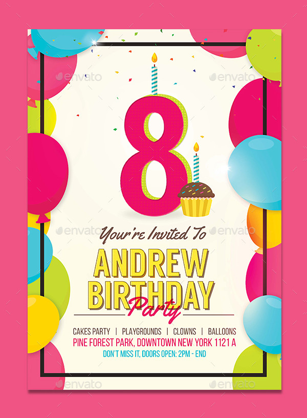 29+ Kids Birthday Invitation Templates - Free & Premium Download