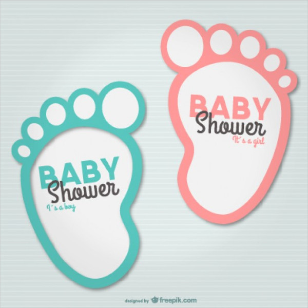 Baby Shower Party Card Template Free Download