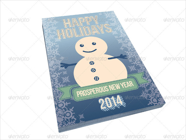Perfect Holiday Postcard Templates Bundle