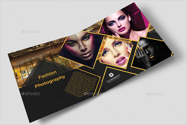 Photography Portfolio Brochure With Business Card
