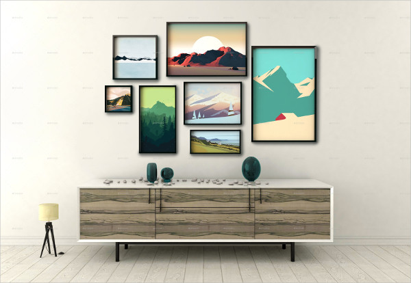 Clean Picture Frame Mockup