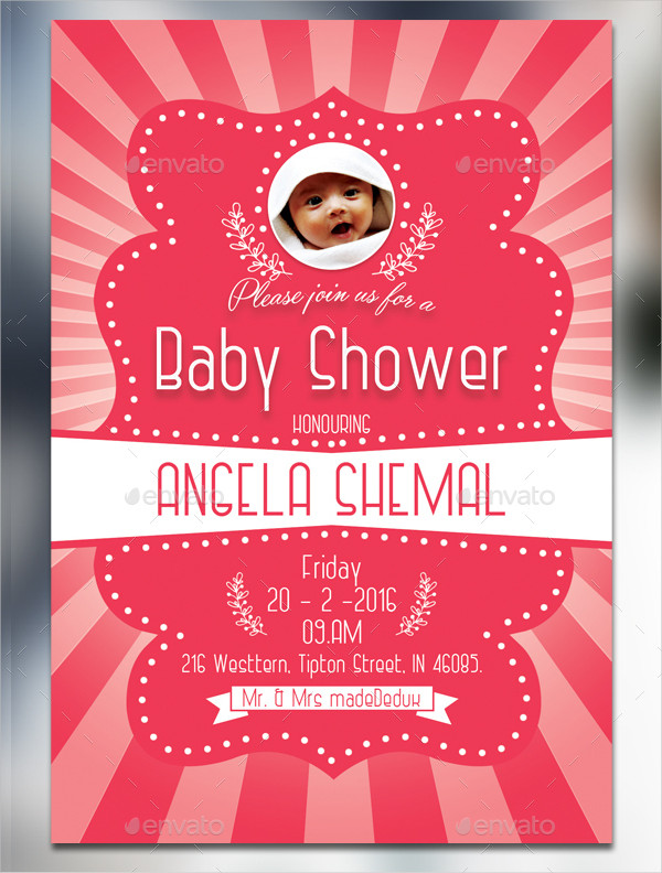 Best Baby Shower Invitation Card Template