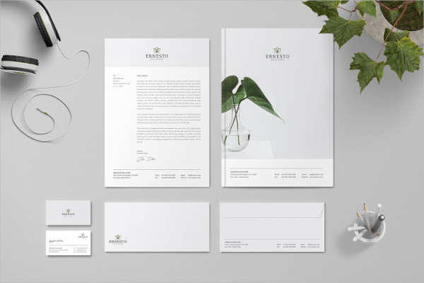 Printable Branding Identity Stationary Pack