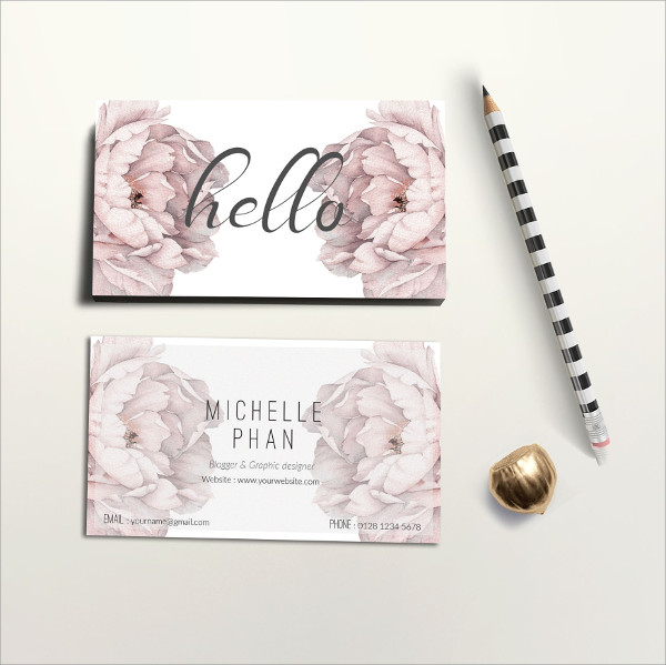 Printable Elegant Business Card Template
