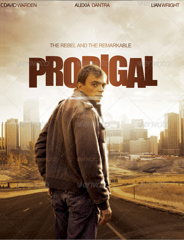 Prodigal Movie Poster Template