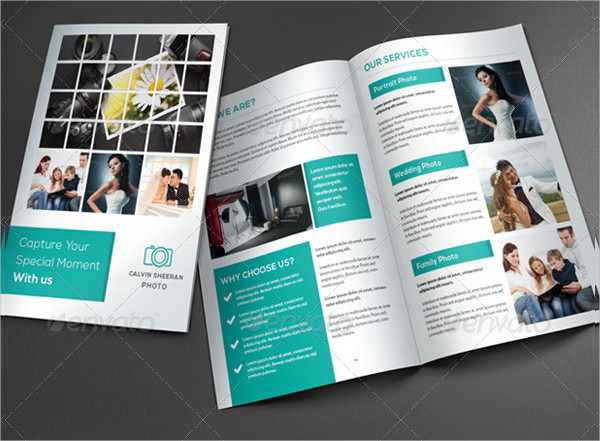 Professional Photography Services Brochure