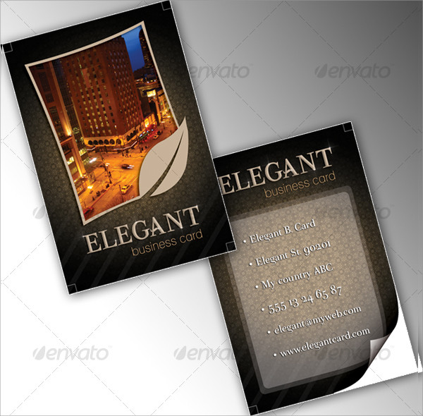 Elegant Hotel Business Card Design