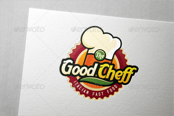 Unique Logo Template for Fast Food & Chef Company