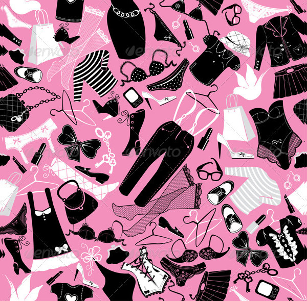 Seamless Pattern for Fashion Clothes Design