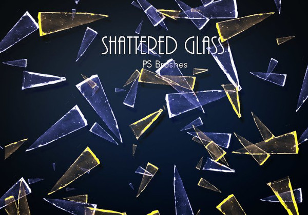 Shattered Glass PS Brushes Free Download