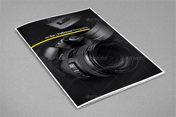 Wonderful Photography Brochure Template