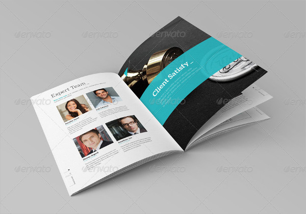 Professional and Clean Business Brochure Template