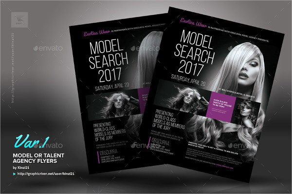 21  audition flyer templates
