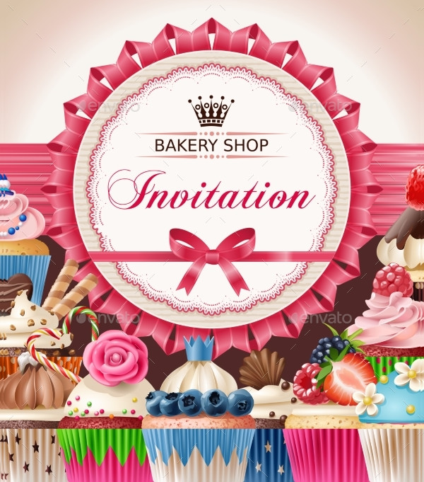 Unique Bakery Poster Template