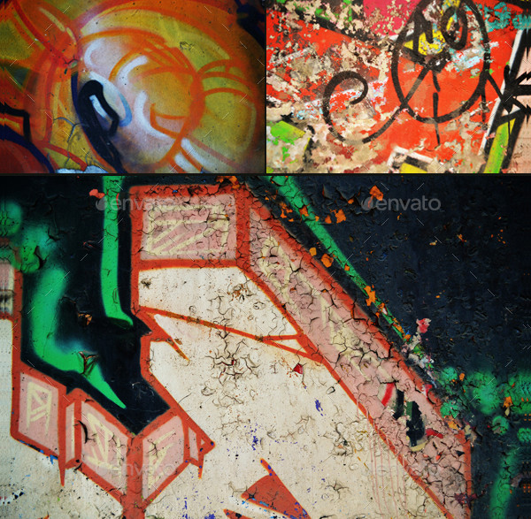 Urban Graffiti Backgrounds