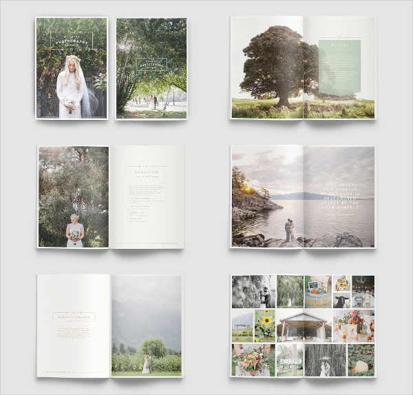 Beautiful Brochure Template for Photographers