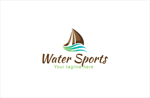 Water Sports Logo Template