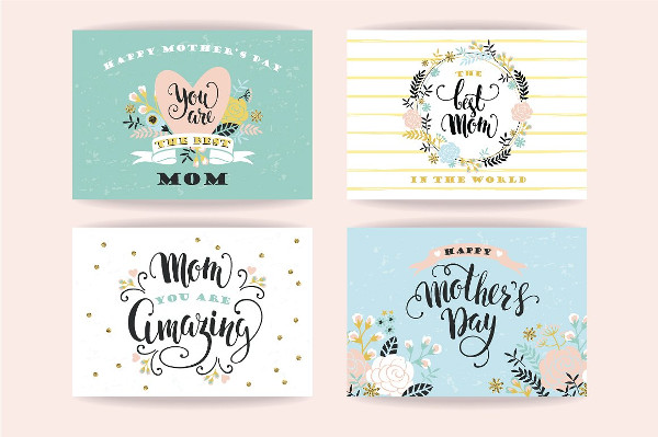 15 Greeting Cards for Mother's Day