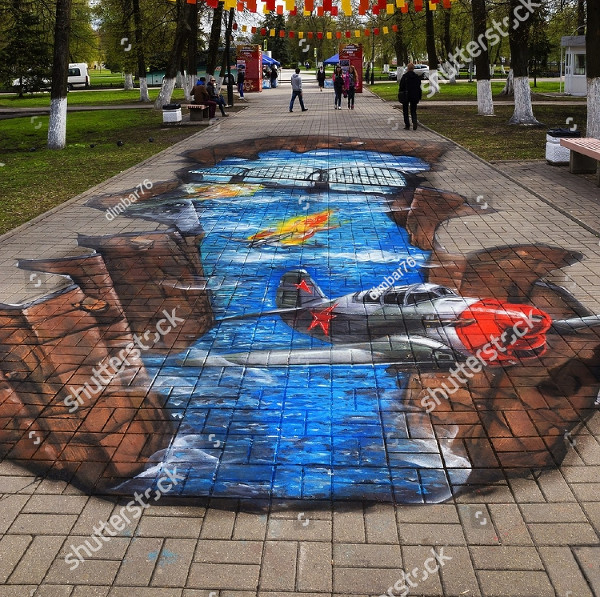 3D Street Fighter Art
