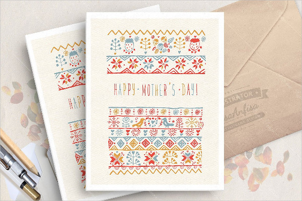 Online Mother's Day Greeting Card Template