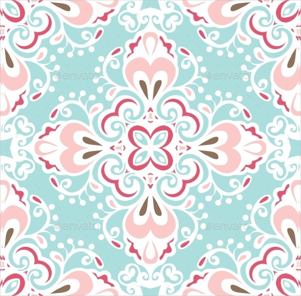 Abstract Tiled Pattern Vector