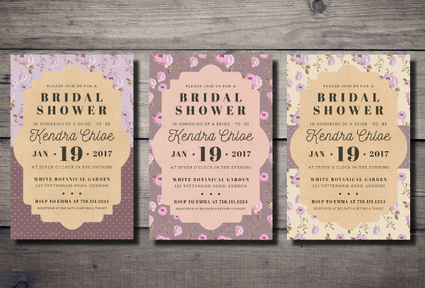 Best Bridal Shower Invitations