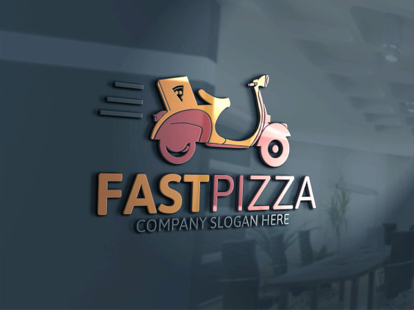 Best Pizza Logo Template
