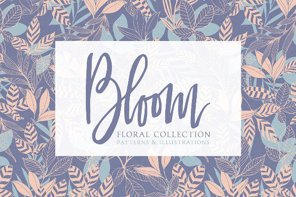 Bloom Floral Patterns Collection