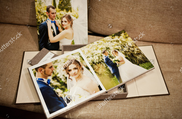 Velvet Wedding Book and Album Template