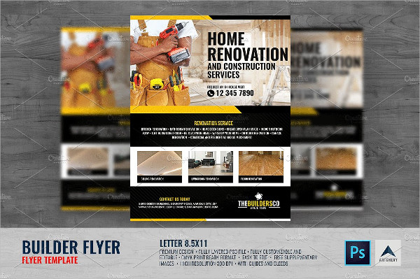 31 Construction Flyer Templates Free Amp Premium Download