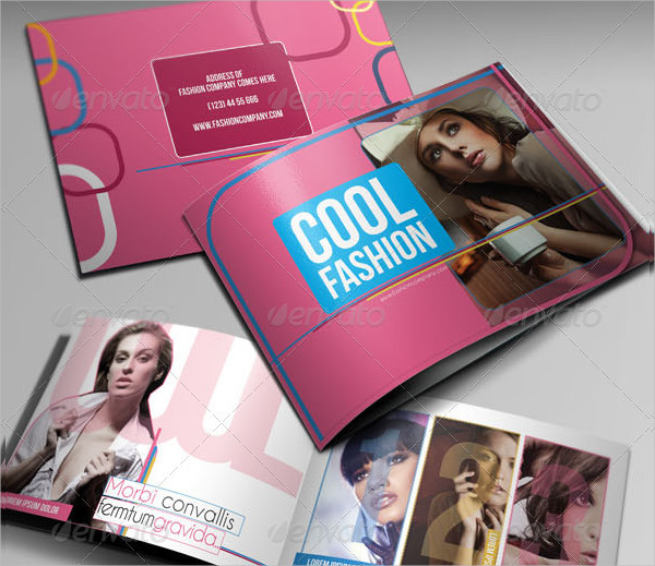 Cool Fashion Brochure Template
