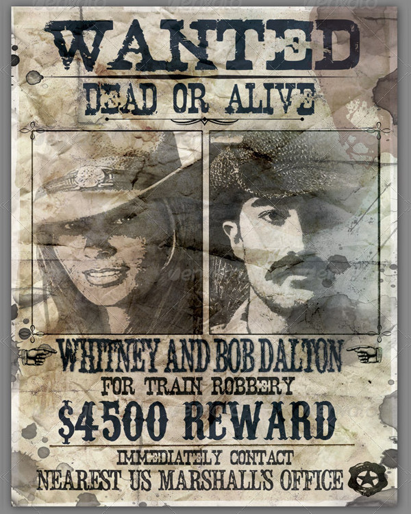 Wanted Posters for Singles and Couples