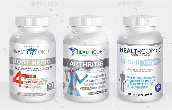 25 supplement label templates free premium download for Supplement facts template