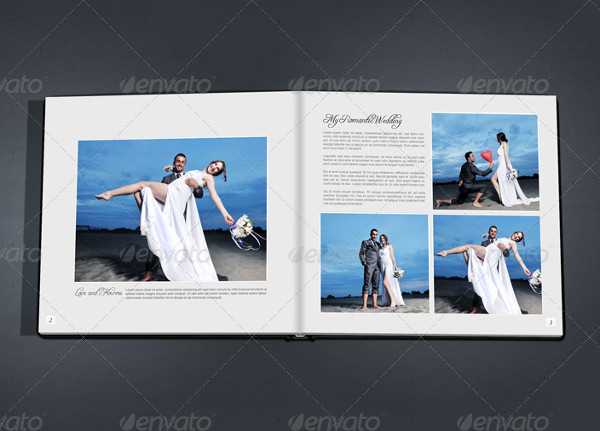Professional Wedding Album Template
