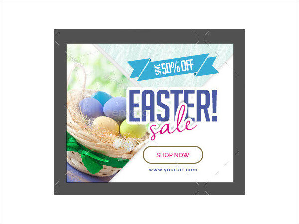 Custom Easter Sale Banners