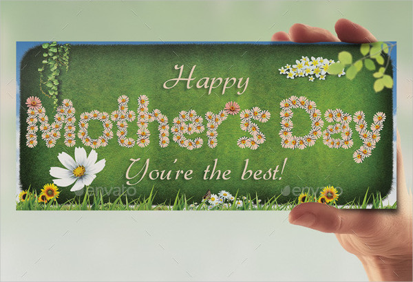 Greetings Card for Mothers Day