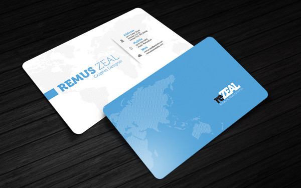 Editable Free Business Cards Design