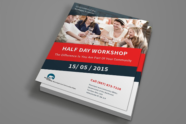 Workshop Flyer Templates  BesikEightyCo