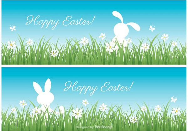 Free Easter Vector Banners