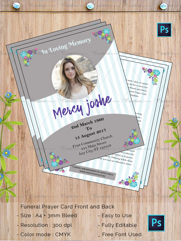23  funeral flyer templates