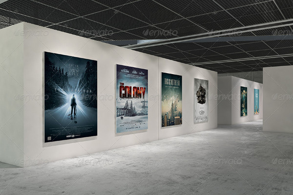 Gallery Poster Mockups