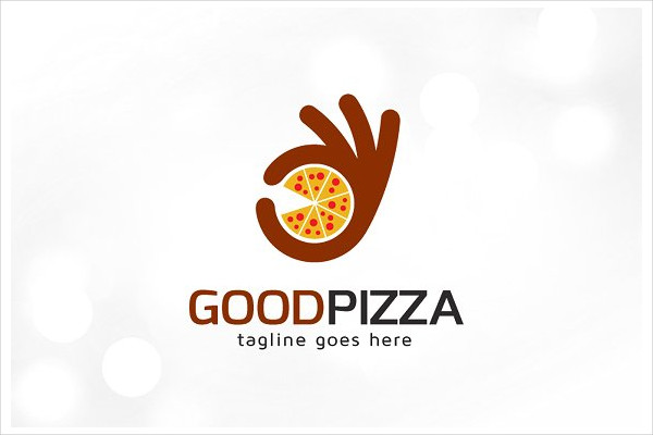 Good Pizza Logo Template