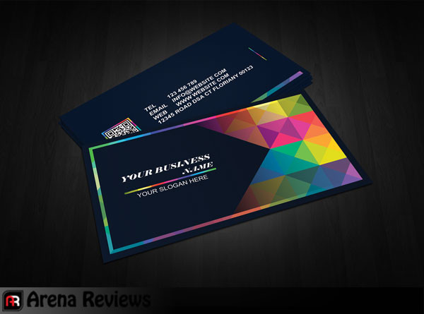 Graphic Design Free Business Card Template