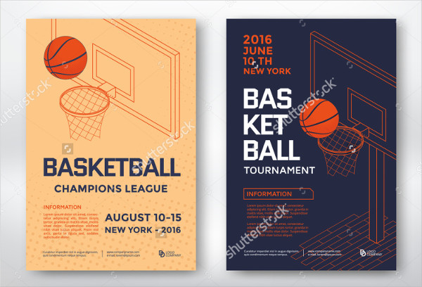 Basketball Tournament Posters Design
