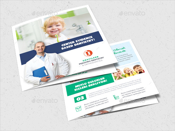 Kids Dental Brochure Templates